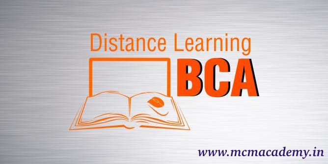 Online BCA Course Distance Learning