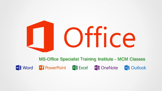 Microsoft-Office mos certification in delhi