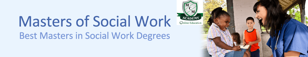 Master of Social Work (MSW) Distance Learning