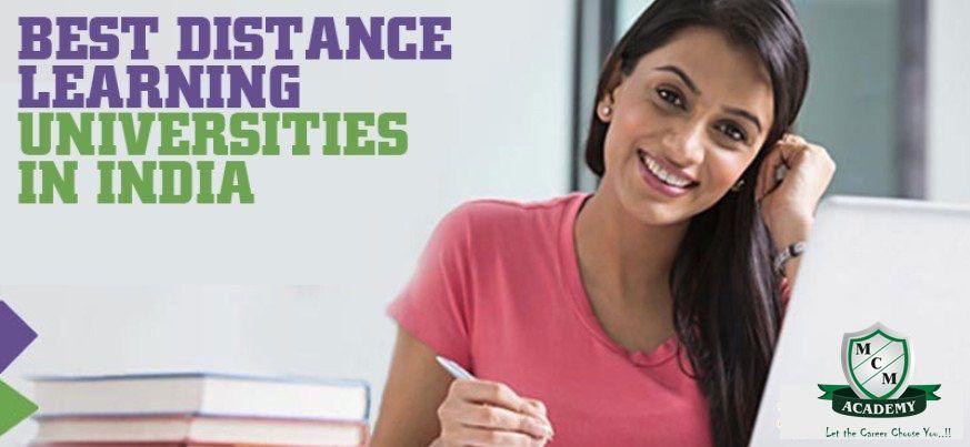 best distance education university india mcm academy