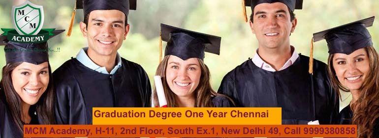 Graduation Degree One Year Chennai