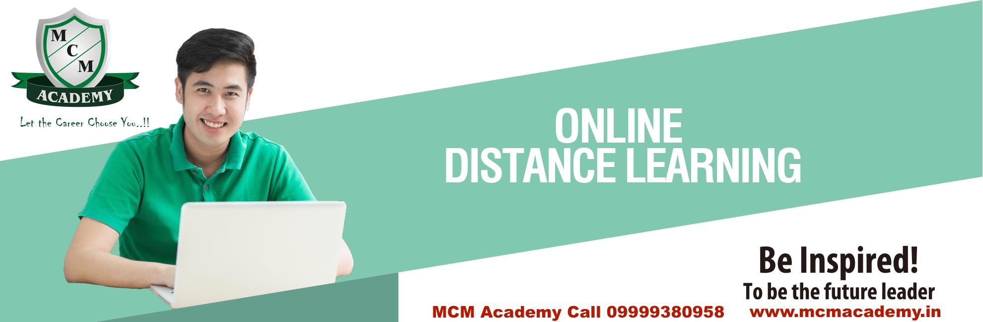 mcm academy distance courses